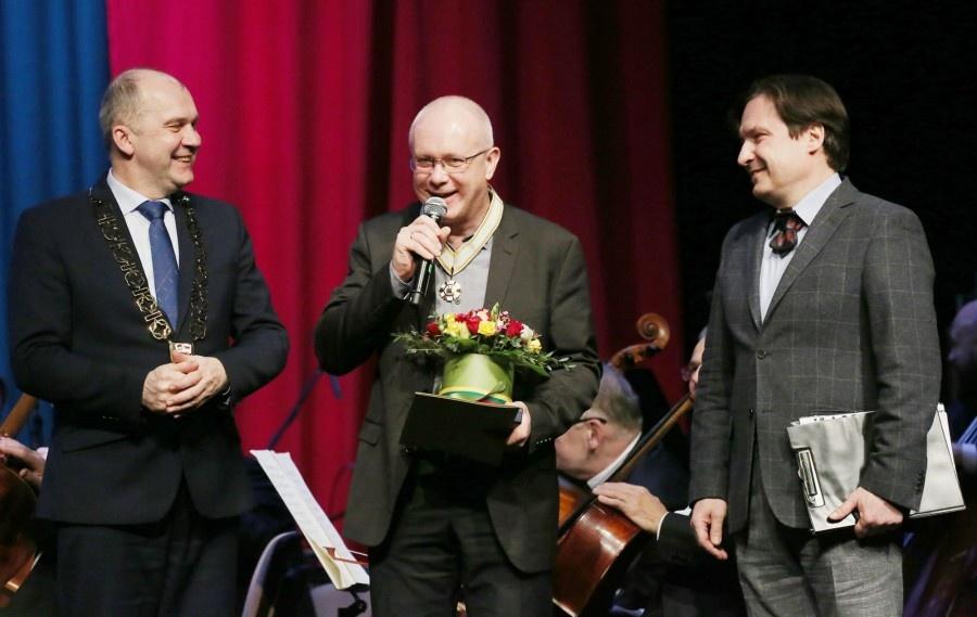 Ukmergę garsinančio festivalio meno vadovui – garbingas apdovanojimas