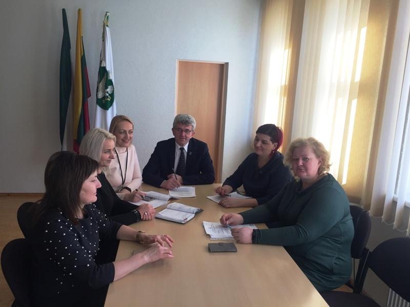 Į pirmąjį posėdį susirinko Pagėgių savivaldybės Šeimos komisija