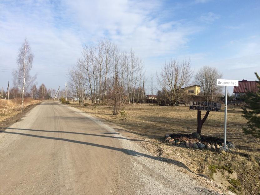 Savivaldybė ketina asfaltuoti Bruknynės ir Liublino gatves