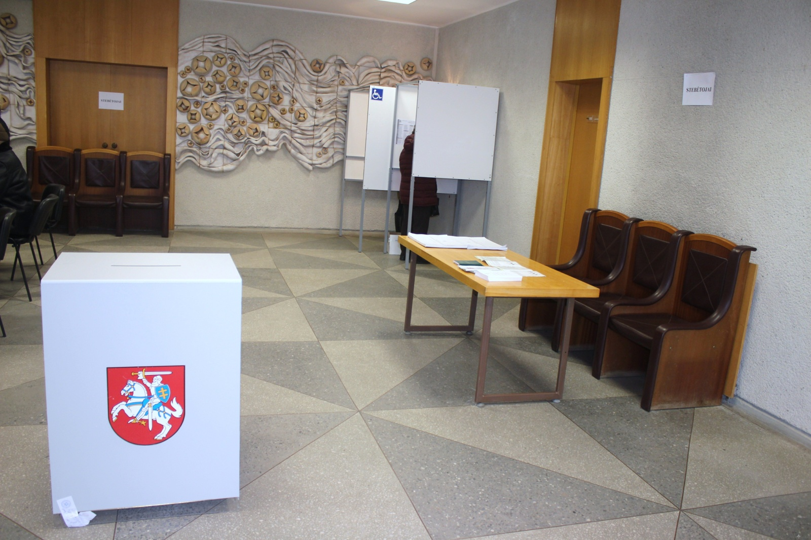 Merų rinkimų antrasis turas. Išankstinis balsavimas rajone – vangesnis