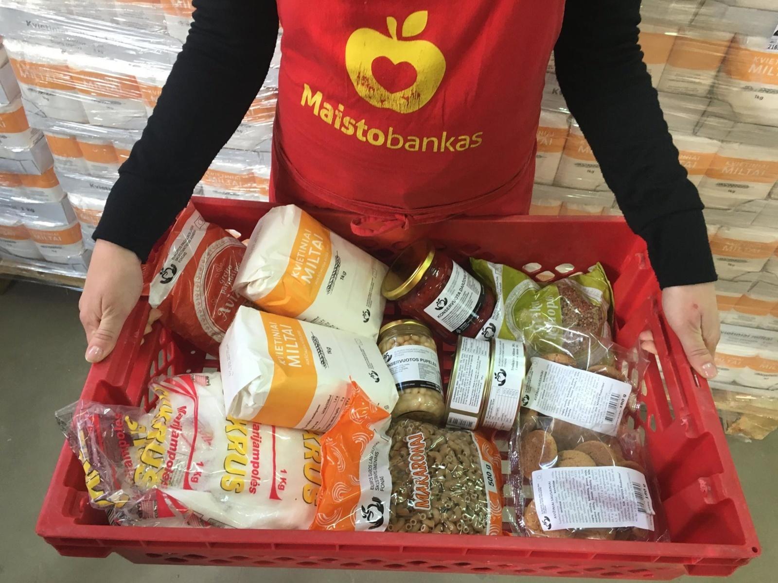 Šakiuose bus dalinama parama maisto produktais