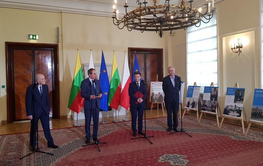 Varšuvoje atidaryta paroda, įprasminanti Lietuvos ir Lenkijos draugystę