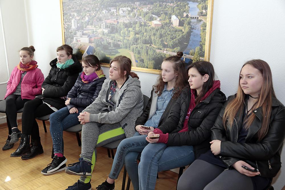 Padovinio moksleivių išvyka į Marijampolę