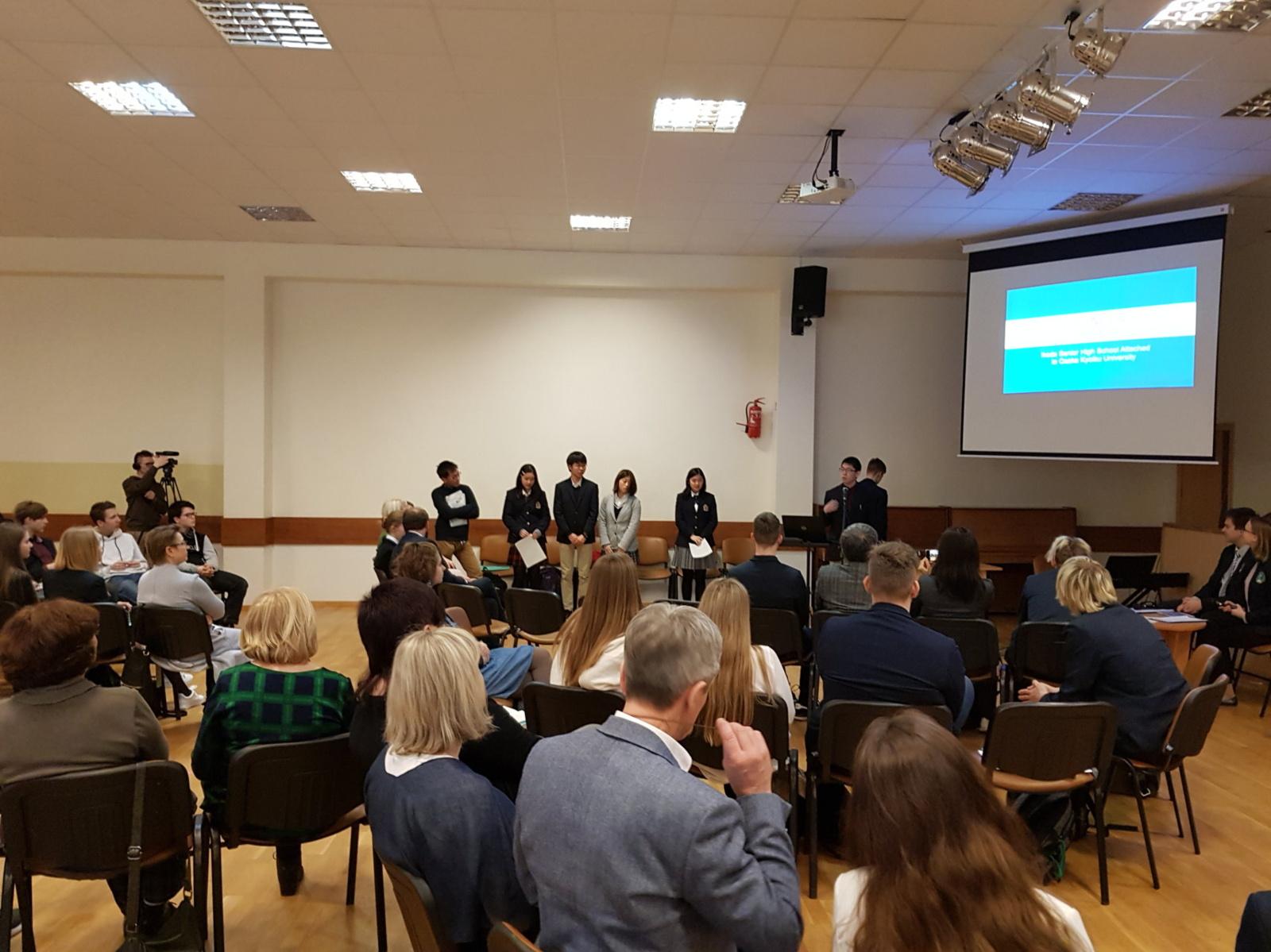 """Tarptautinėje konferencijoje """"Aplinkos raida 2019"""" dalyvavo ir visaginiečiai"""