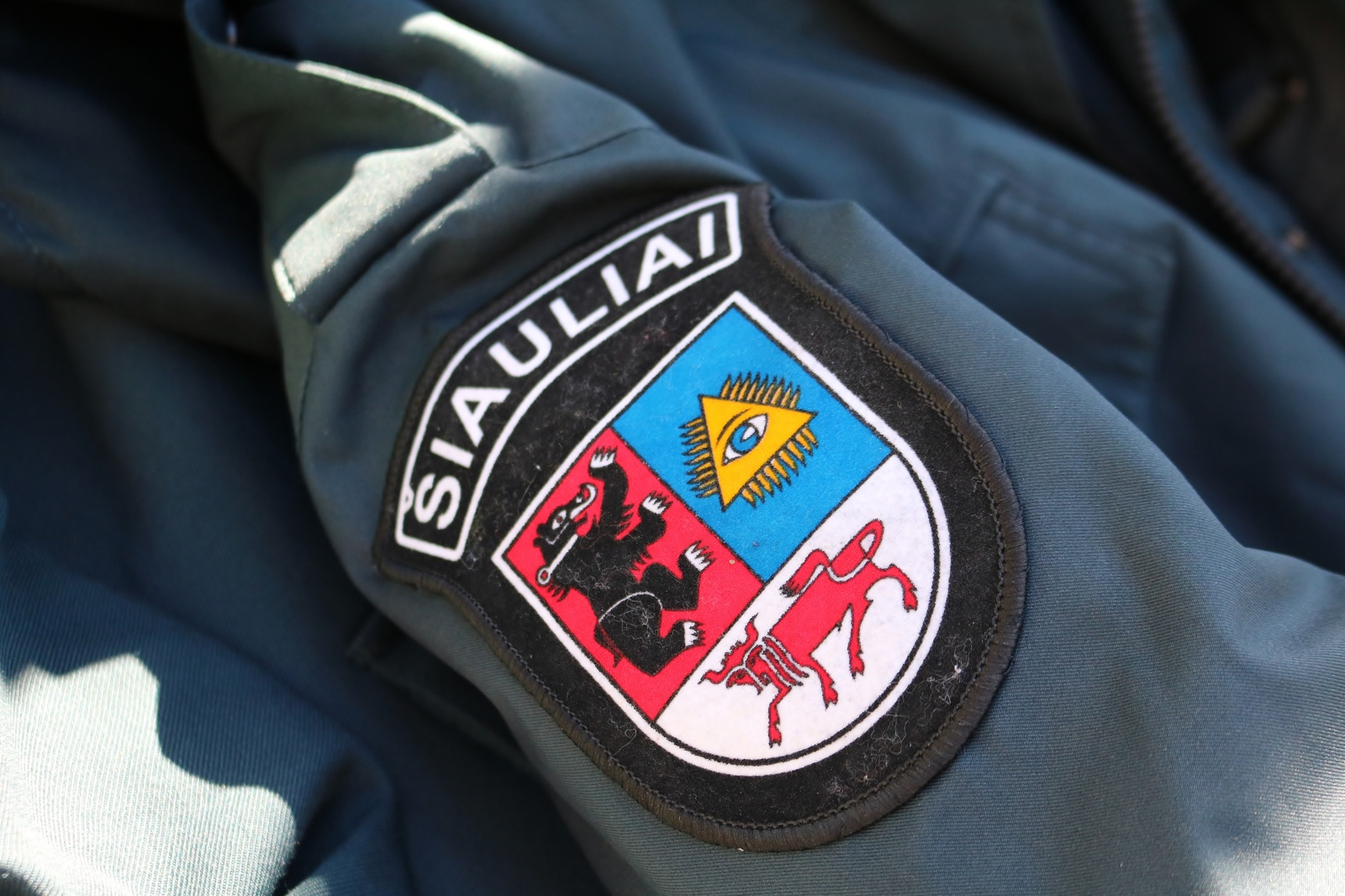 Šiaulių mokykloje aptiktas surūdijęs šautuvas