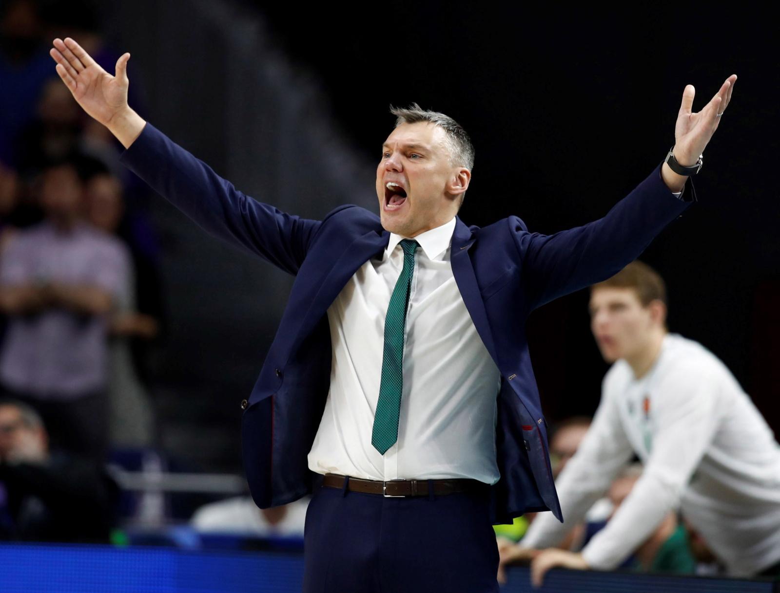 """Šarūnas Jasikevičius palieka Kauno """"Žalgirį"""""""