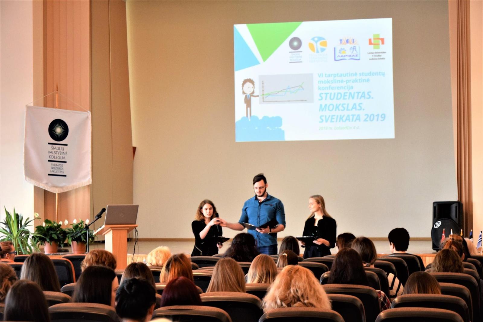 Kolegijoje – sveikatos mokslams skirta konferencija