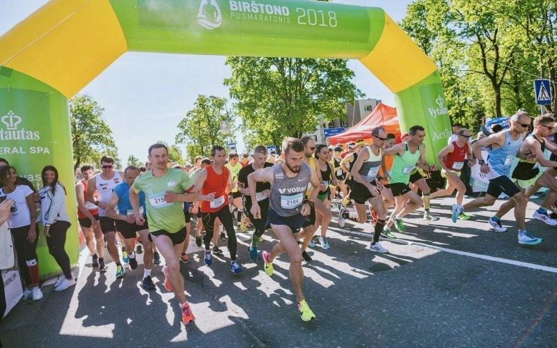 Birštono pusmaratonis: unikalios trasos nepalieka abejingų