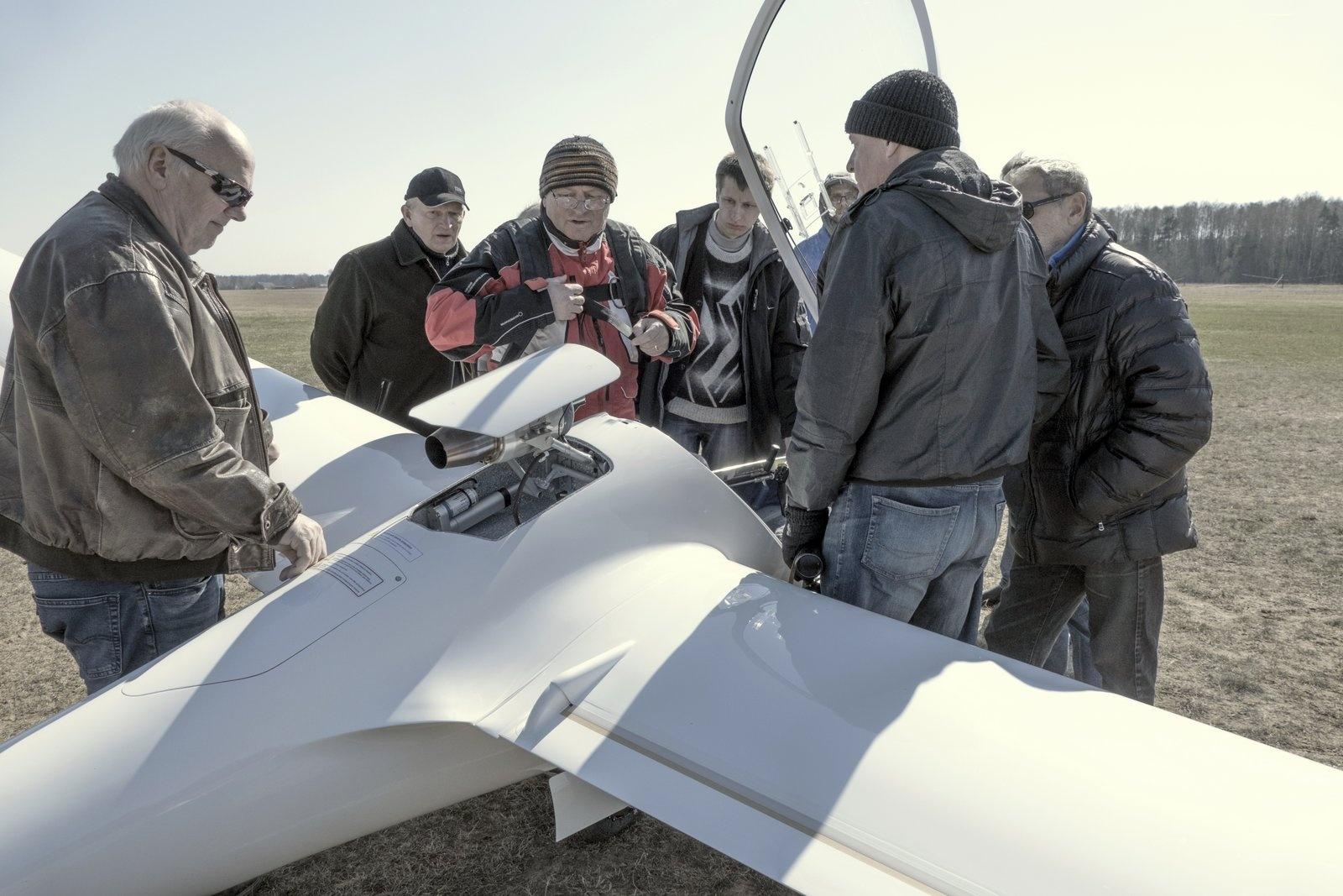 Prienų baltasparnis – pirmas pasaulyje