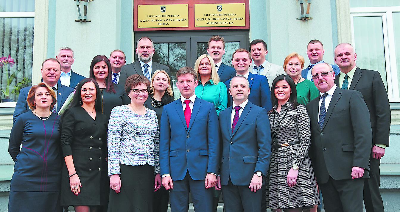 Dirbti pradėjo jauniausia šalyje Savivaldybės taryba