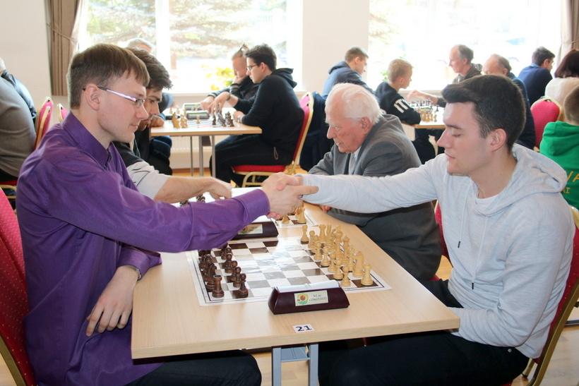 Seirijuose vyko tarptautinis šachmatų turnyras