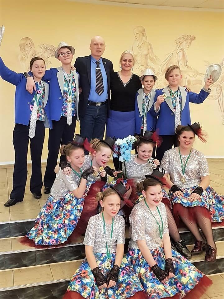 """Tarptautiniame šokių festivalyje-konkurse šokių kolektyvas """"Enigma"""" iškovojo """"Grand Prix"""""""