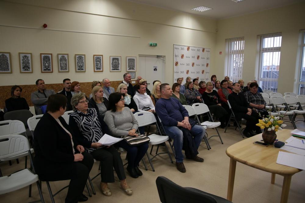 Kužių bendruomenė rinkosi į ataskaitinį – rinkiminį susirinkimą