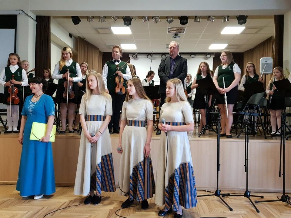 """Pernu meno namų vaikų orkestro edukacija – koncertas ,,Spring Concert"""""""