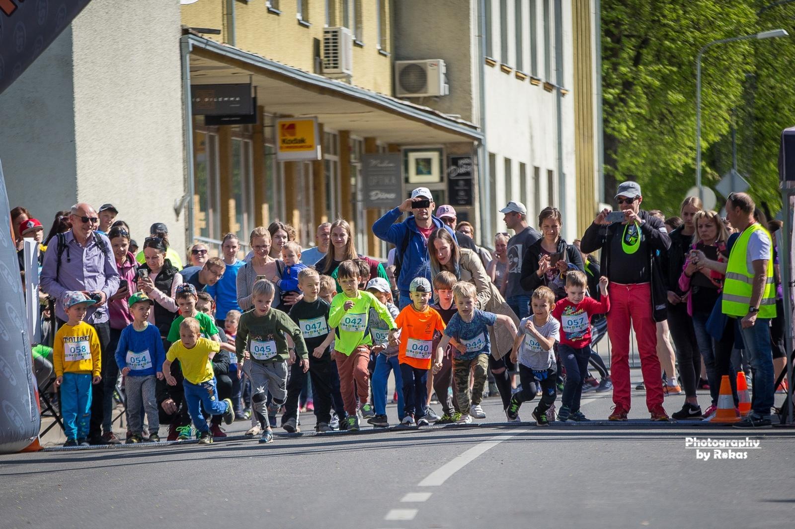 Seniausiame Lietuvos bėgime triumfavo maratono rinktinės narys (fotogalerija)