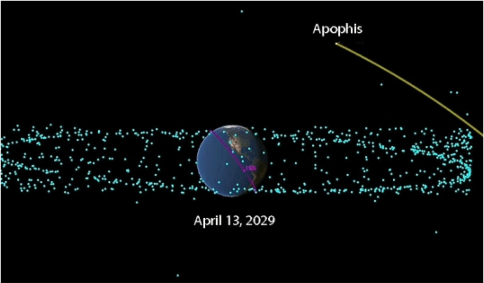 Link Žemės skrieja didesnis už Eifelio bokštą asteroidas