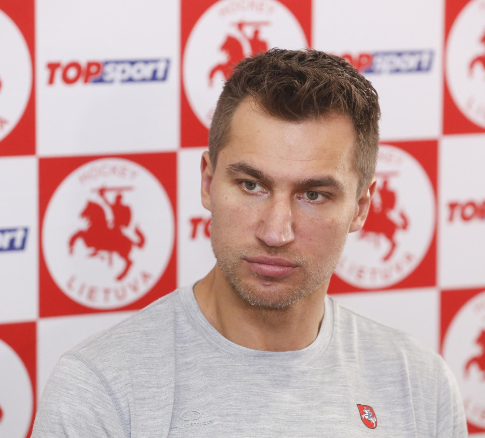 D. Zubrus: žiūrėdamas į ateitį, šiuo čempionatu esu patenkintas