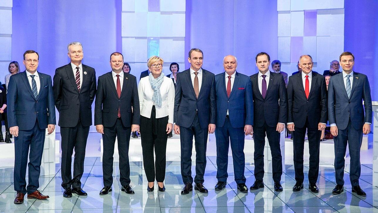 Paskutiniai prezidentiniai reitingai: rinkimų baigties ekspertai nebeprognozuoja