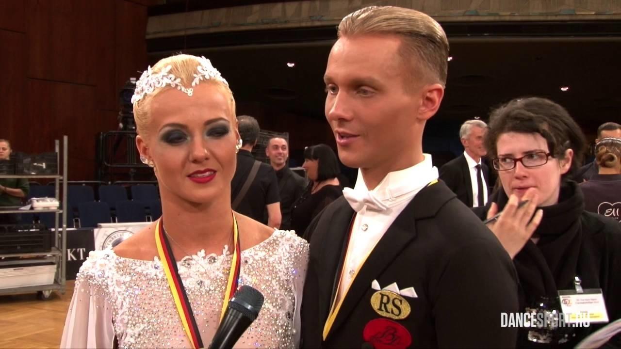 Šokėjai E. Sodeika ir I. Žukauskaitė - Europos čempionai