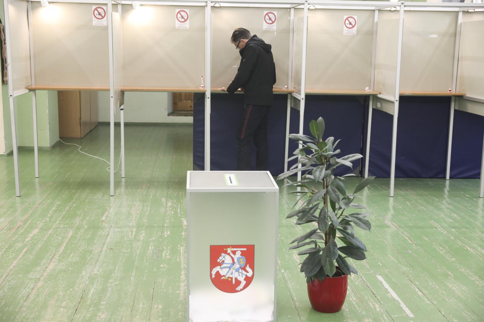 Vienas referendumas įvyko, tačiau pritrūko balsų, kitas laikomas neįvykusiu