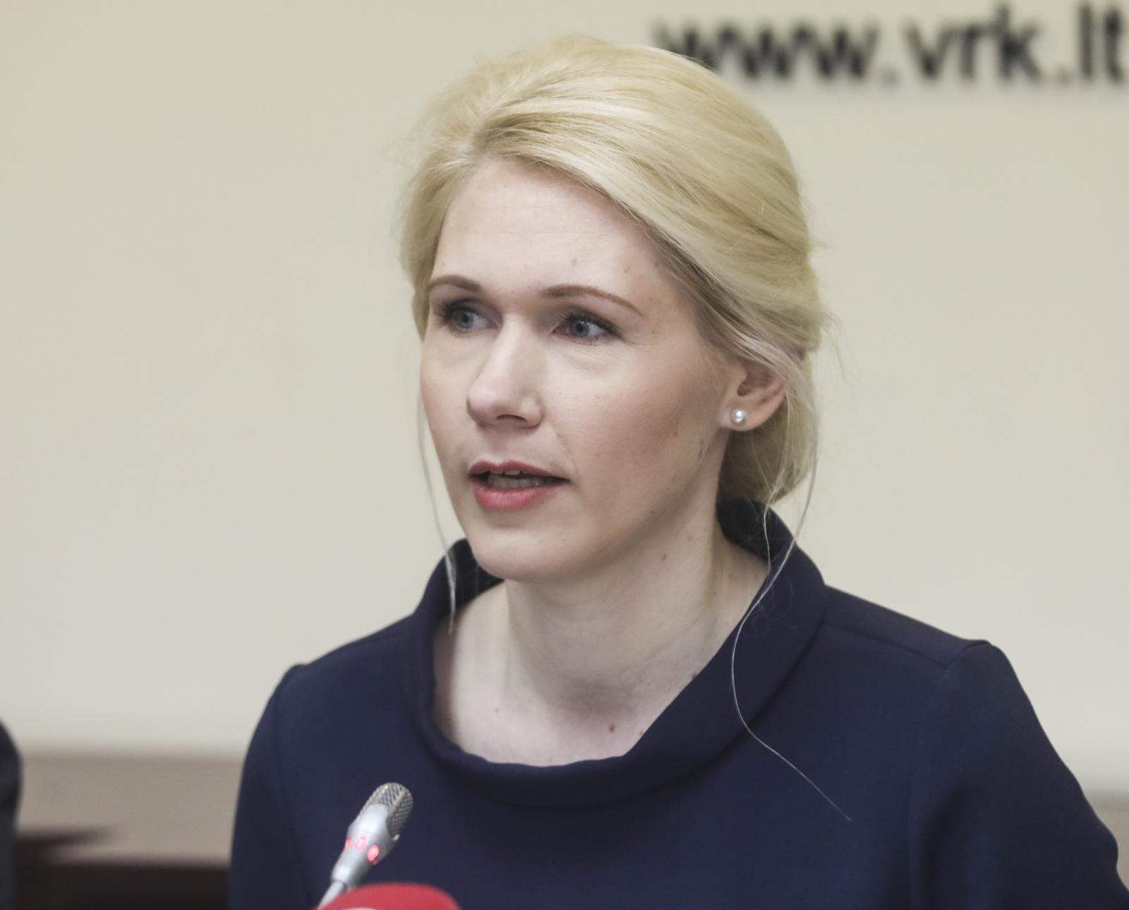 VRK pirmininkė: antrasis rinkimų turas bus dar labiau įtemptas