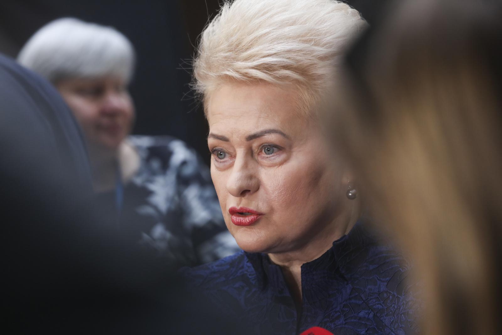 D. Grybauskaitė pakomentavo rinkimų rezultatus: rinkimai parodė Lietuvos visuomenės brandą