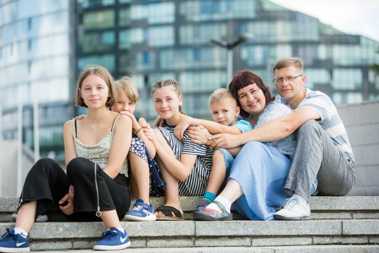Mano didelės ir darnios šeimos paslaptis – mes esame komanda