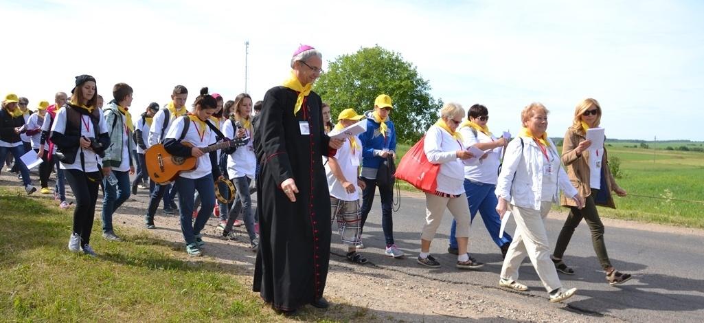 Kviečia į tradicinę Vilniaus rajono piligriminę kelionę pėsčiomis iš Turgelių į Maišiagalą
