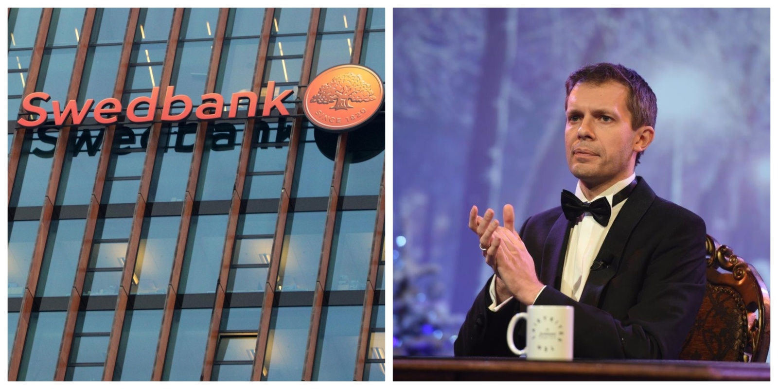"""""""Swedbank"""" įspėja: prisidengdami A. Tapino pavarde sukčiai nusitaikė į gyventojų santaupas"""