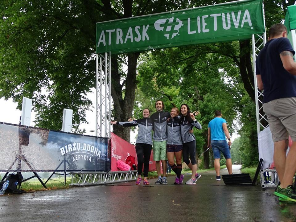 Debiutinis bėgimas Pagėgiuose - galimybė pažinti ir neatrastą Lietuvos kraštą