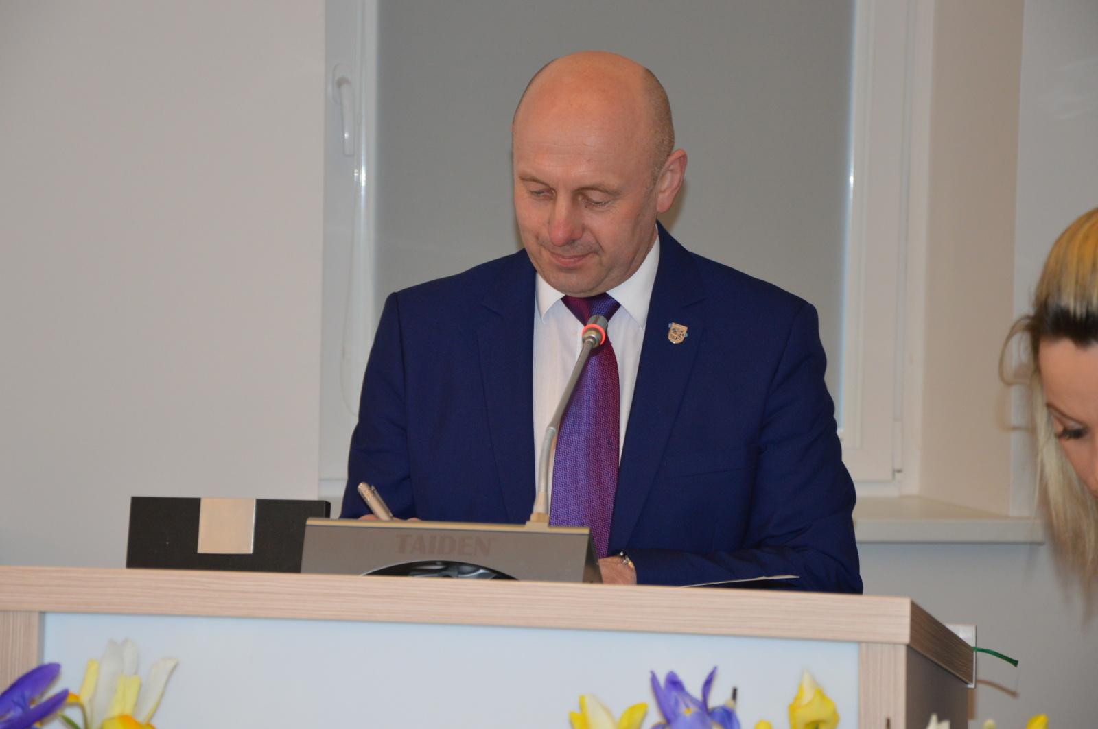 Savivaldybės administracijos direktoriaus pavaduotoju paskirtas A. Marcinkevičius