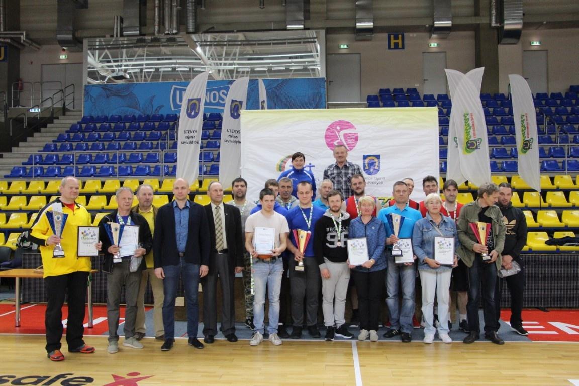 2019 m. Utenos rajono seniūnijų sporto žaidynių nugalėtojos – Leliūnų ir Daugailių seniūnijų komandos
