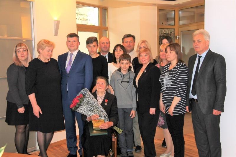 """Irenai Stanislavai Klibienei – garbingas apdovanojimas """"Už nuopelnus Lietuvai"""