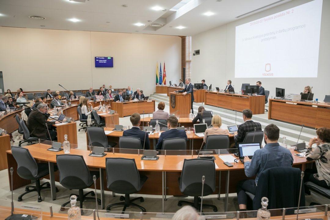 Sostinės Taryboje suburtos 6 komisijos