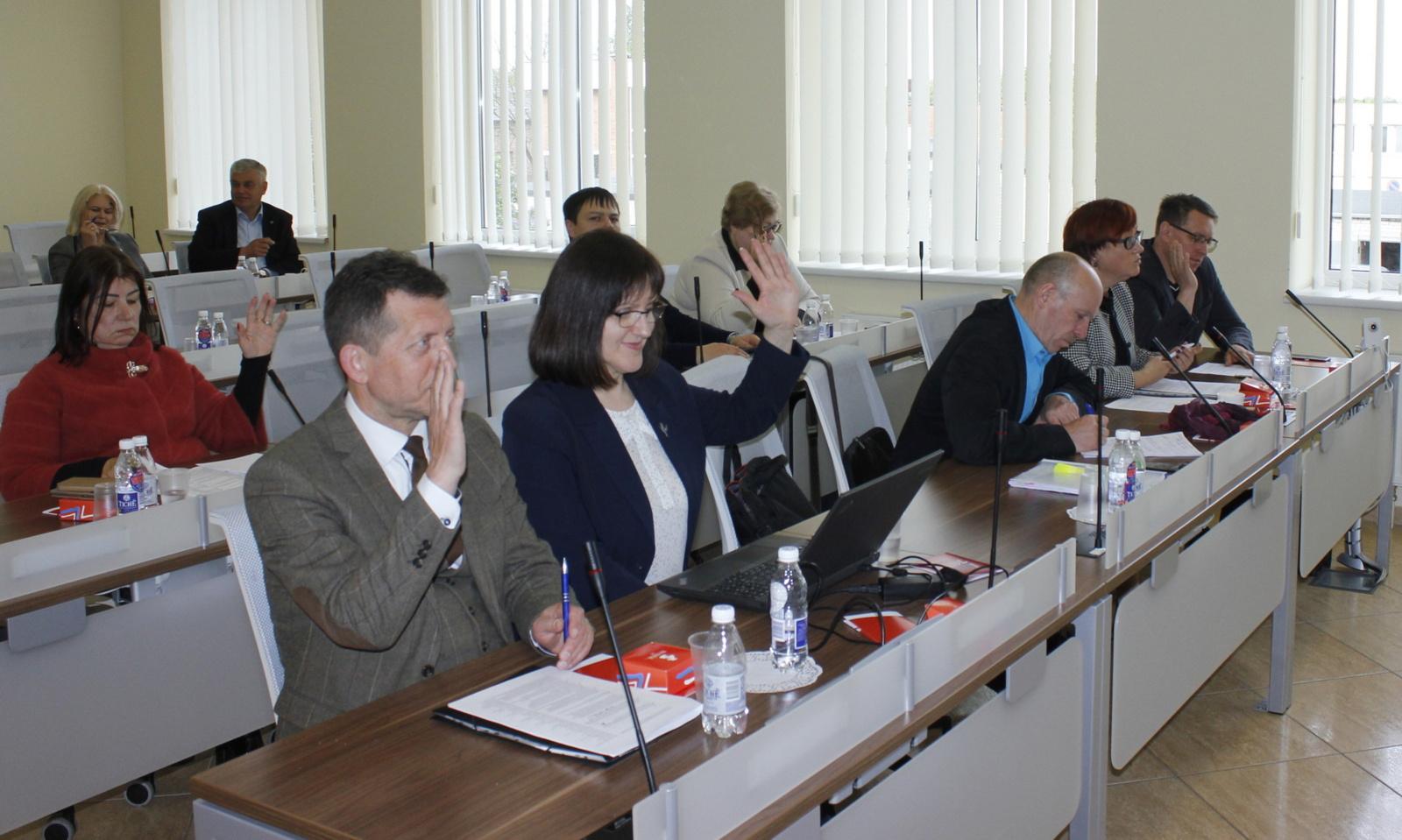 Darbą pradėjo naujos kadencijos Tarybos komitetai