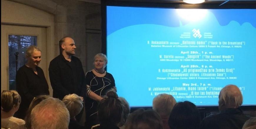 Lietuviškų filmų festivalyje Čikagoje parodytas ir alytiškių sukurtas kinas