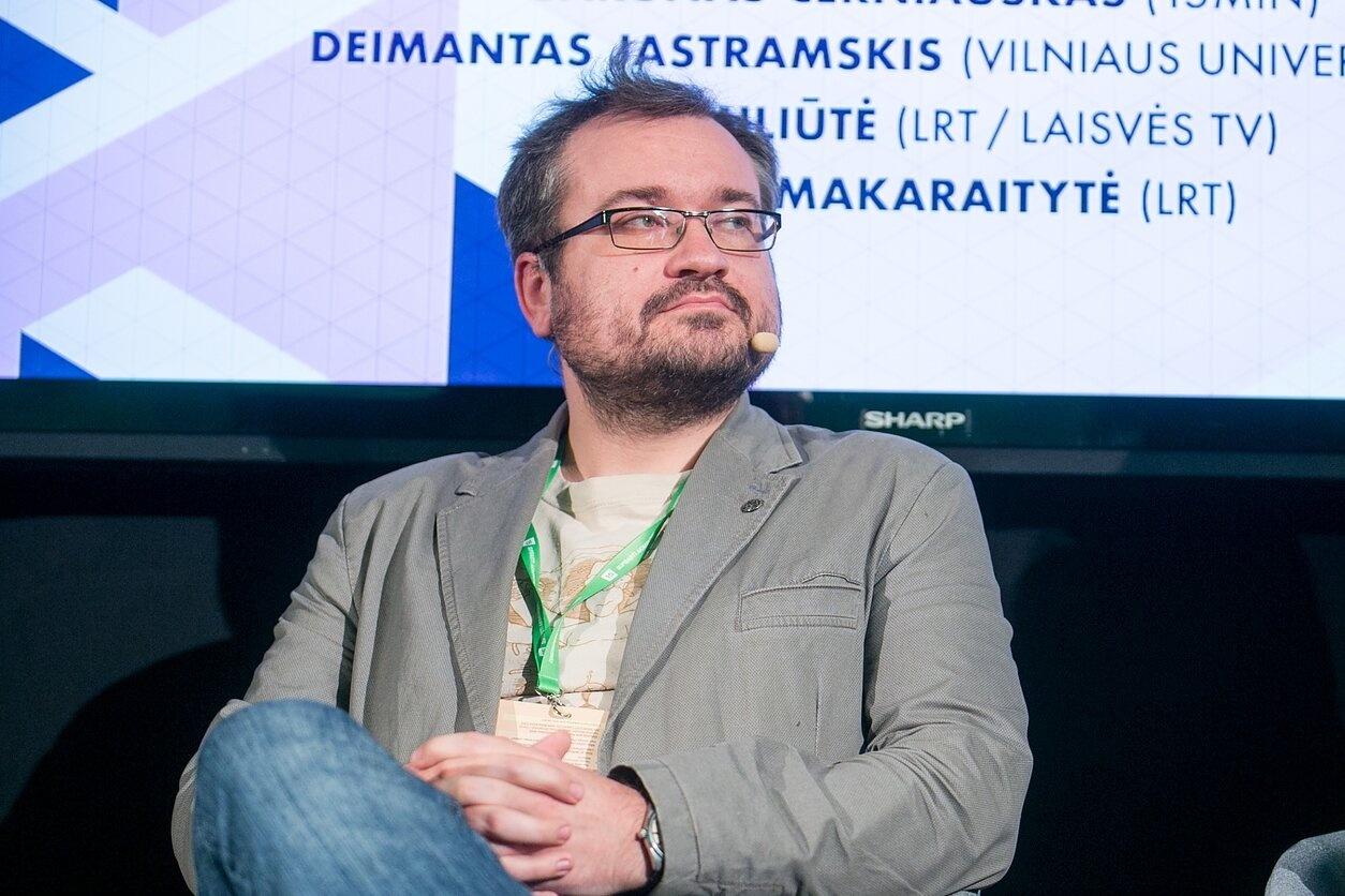 Žurnalistas Š. Černiauskas išbrauktas iš valstybės apdovanotųjų sąrašo