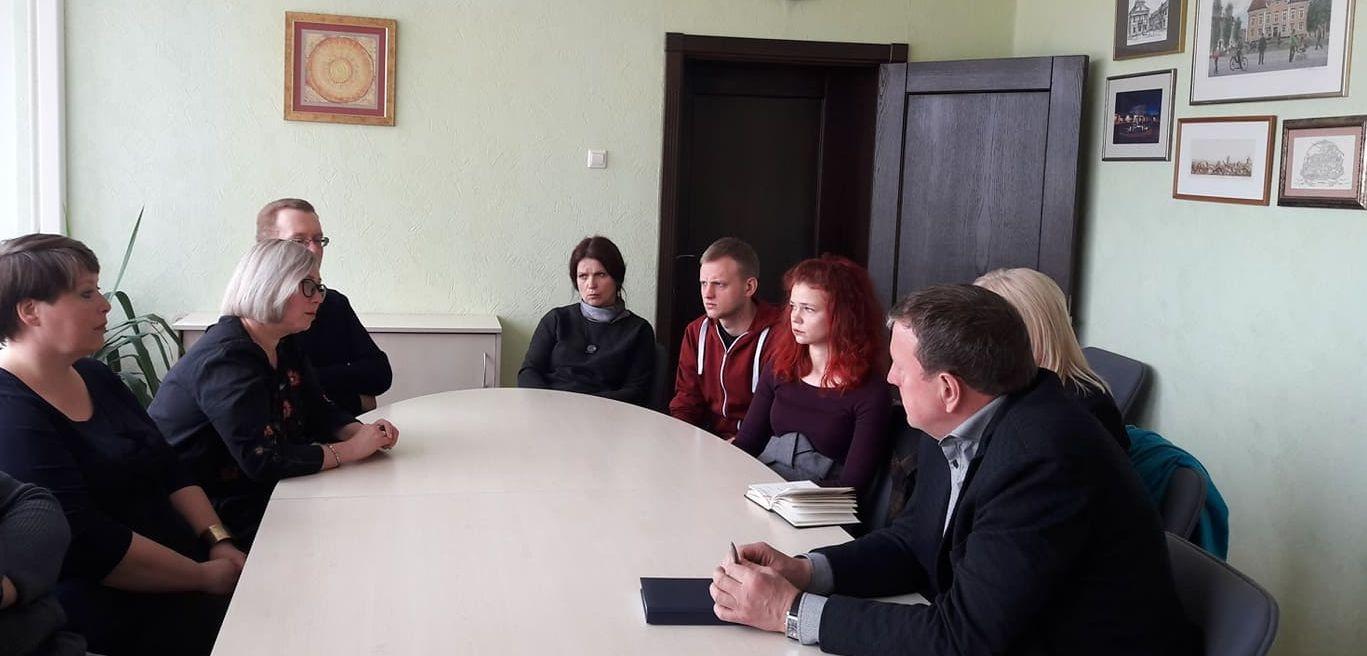 Susitikimas su istorijos ir kultūros muziejaus darbuotojais