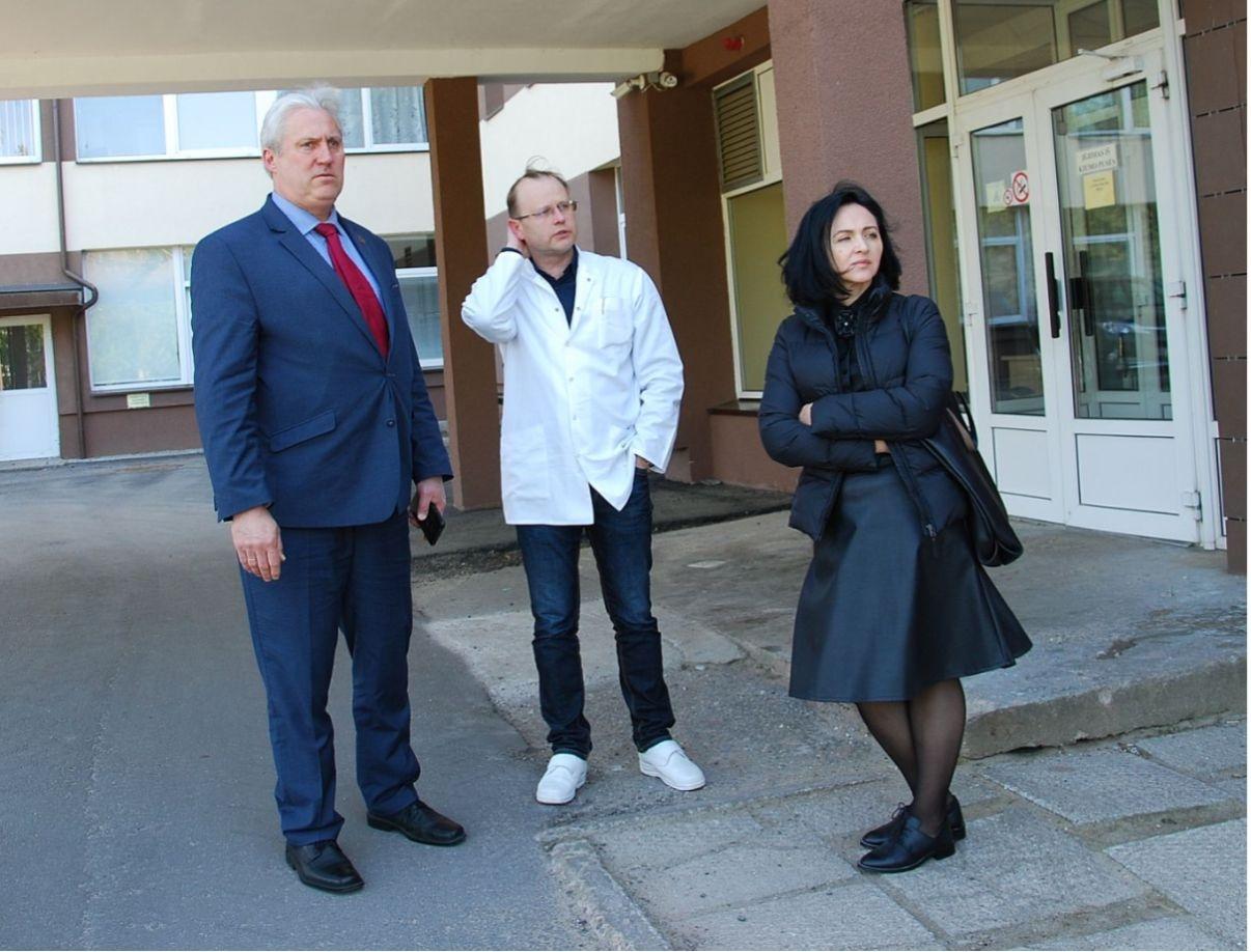 Biržų ligoninėje aptarė šios įstaigos dabartį ir ateitį