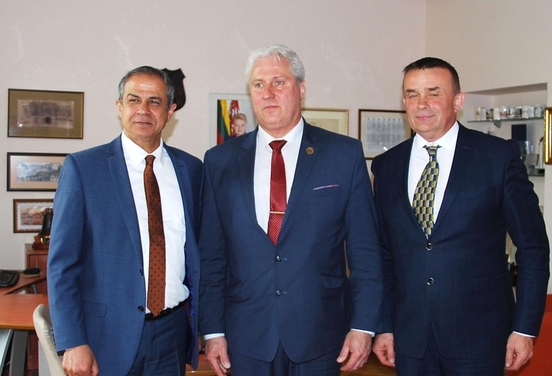 Izraelio valstybės nepaprastojo ir įgaliotojo ambasadoriaus vizitas Biržuose