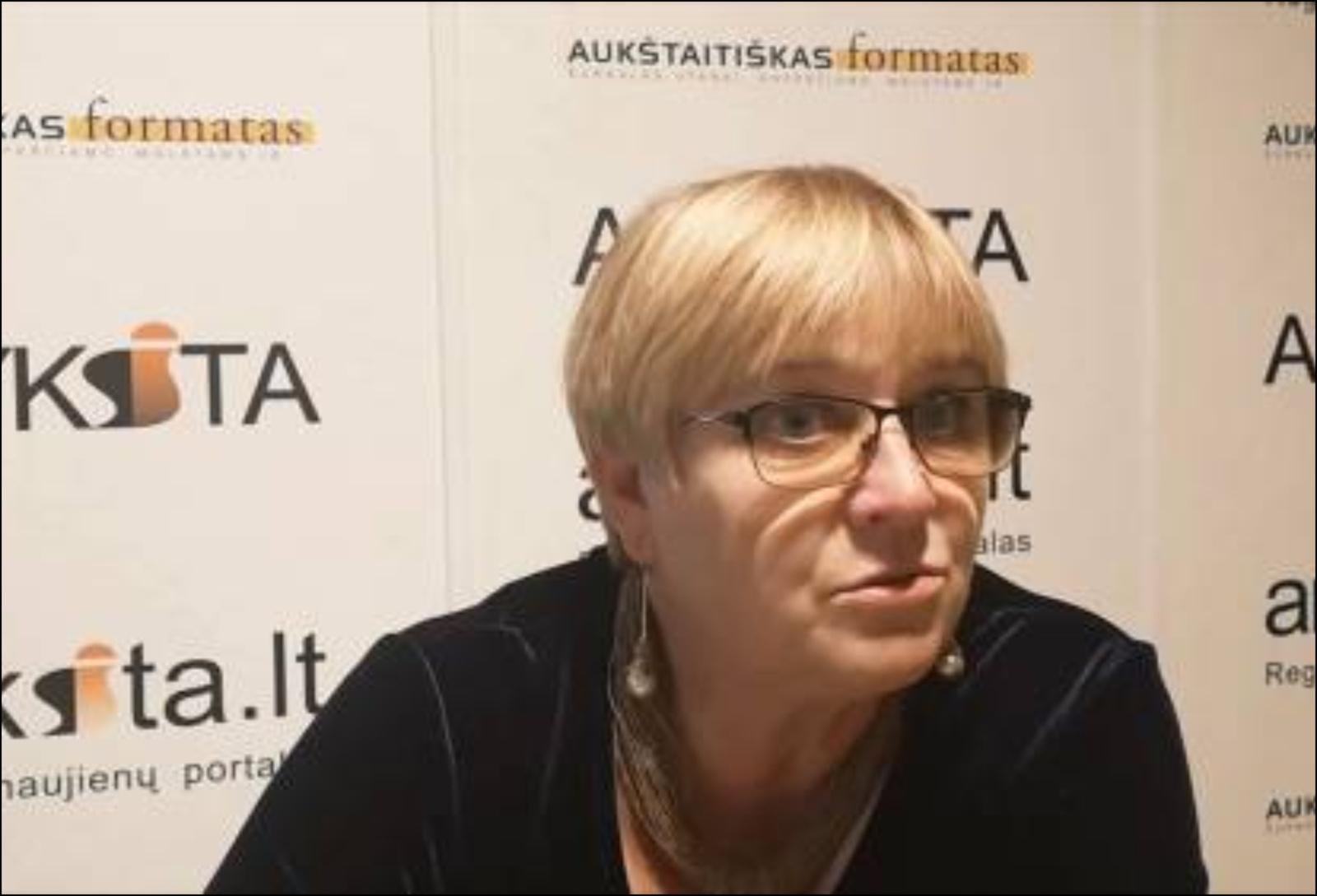 Dangira Nefienė siūloma vadovauti Etikos komisijai