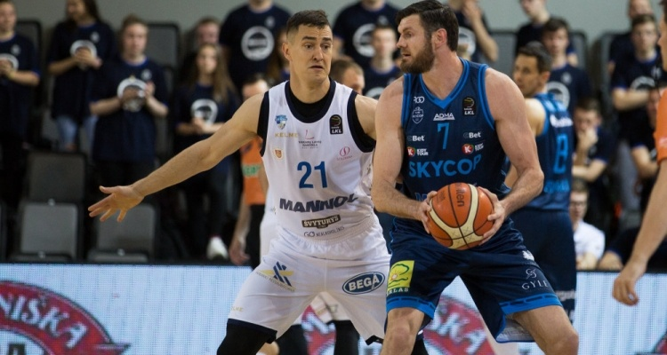 """""""Skycop"""" krepšininkai išlygino LKL ketvirtfinalio serijos rezultatą"""