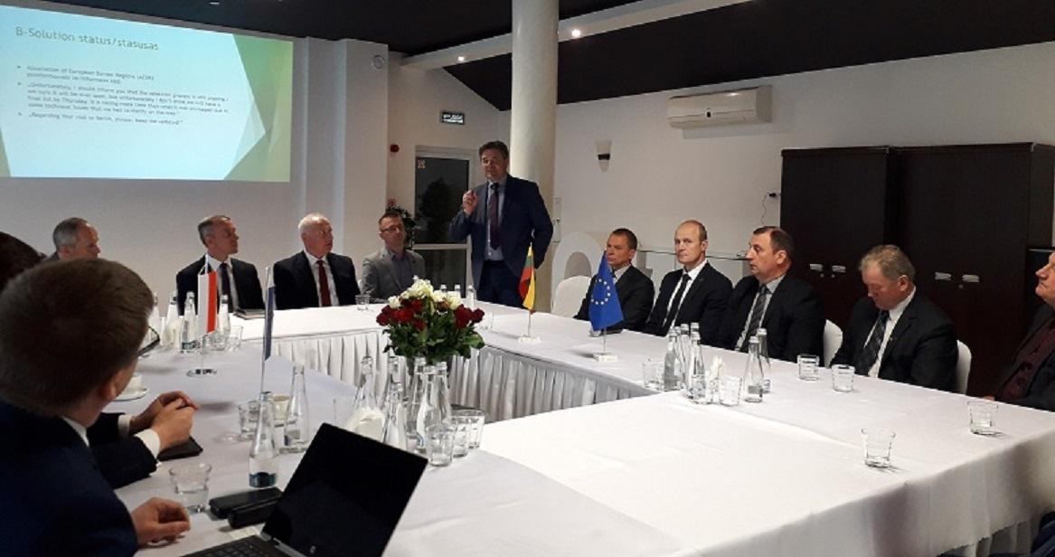 Savivaldybių vadovų susitikime Seinuose – Pasienio regiono funkcinės zonos kūrimo sistemos aptarimas