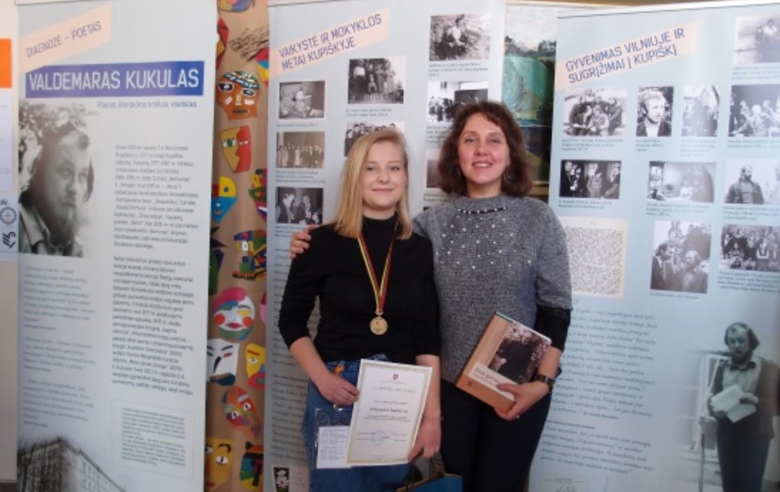 Nugalėtoja jaunųjų filologų konkurse – Zarasų abiturientė