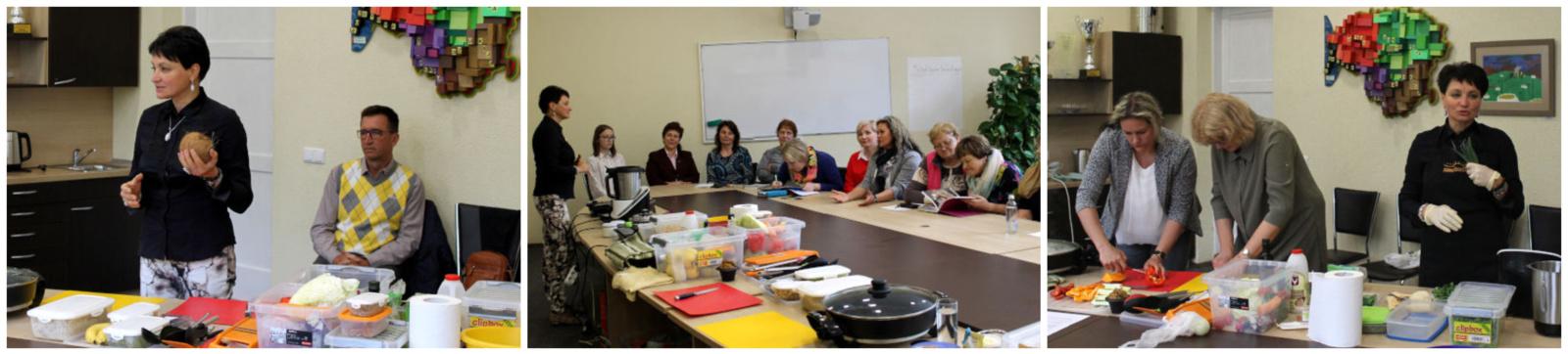 Skanios mitybos mokymai pedagogams – raktas į sveiką visuomenės mitybą