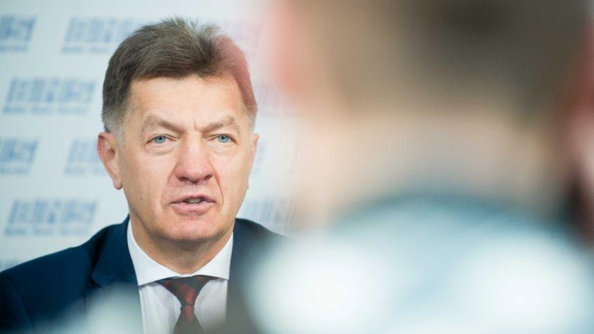 Dėl regionų aplinkos apsaugos departamentų reorganizavimo A. Butkevičius kreipėsi į Aplinkos ministeriją