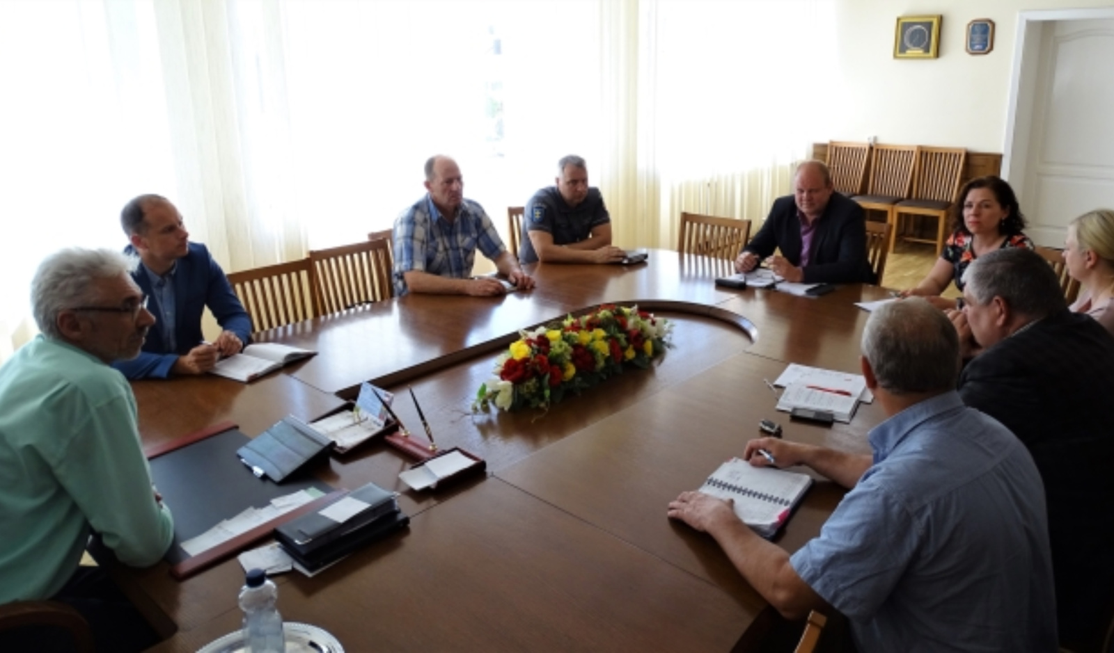 Pasitarime aptarti Skuodo miesto šventės organizavimo klausimai