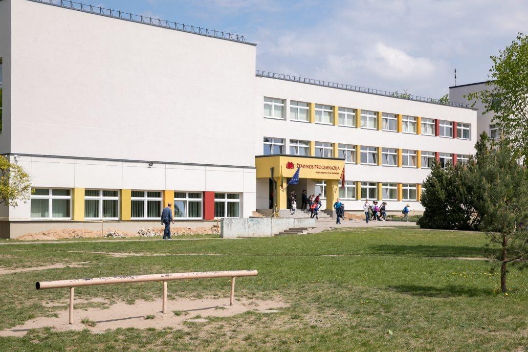 Sostinės savivaldybė stato unikalų didžiulį  3 sporto salių progimnazijos priestatą Pašilaičiuose