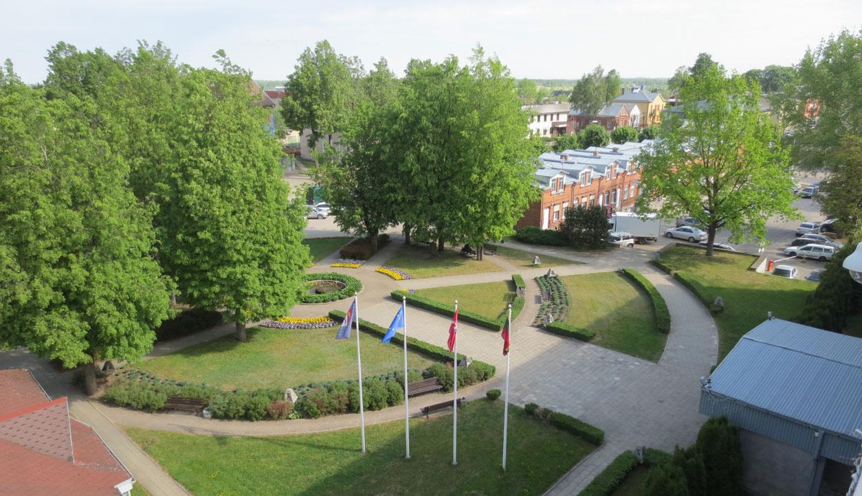 Netrukus iš esmės bus atnaujintas Molėtų miesto centras