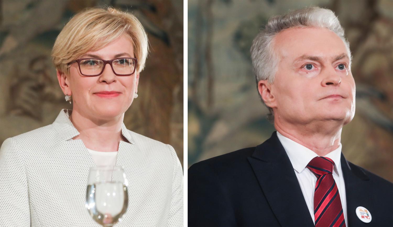 I. Šimonytė: kad ir kas bus išrinktas, jis garbingai eis Lietuvos prezidento pareigas